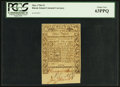Colonial Notes:Rhode Island, Rhode Island May 1786 £3 PCGS Choice New 63PPQ.. ...
