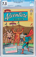 Golden Age (1938-1955):Superhero, Adventure Comics #198 (DC, 1954) CGC VF- 7.5 Off-white to white pages....