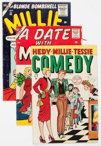 Golden Age Teen Humor Group of 12 (Various Publishers, 1950s) Condition: Average VG-.... (Total: 12 Comic Books)
