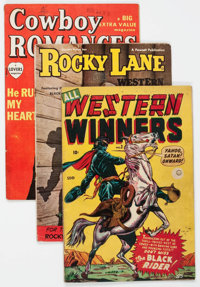 Golden Age Canadian Western Comics Group of 10 (Various Publishers, 1950s) Condition: Average VG.... (Total: 10 Comic Bo...
