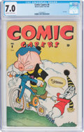 Golden Age (1938-1955):Funny Animal, Comic Capers #6 (Red Circle/Marvel, 1946) CGC FN/VF 7.0 Off-whiteto white pages....