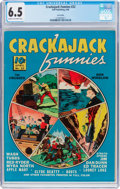 Golden Age (1938-1955):Miscellaneous, Crackajack Funnies #22 Lost Valley Pedigree (Dell, 1940) CGC FN+ 6.5 Cream to off-white pages....