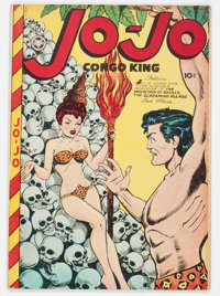 Jo-Jo Comics #8 (Fox Features Syndicate, 1947) Condition: FN+