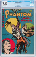Golden Age (1938-1955):Miscellaneous, Feature Book #53 The Phantom (Frederick S. Clarke, 1945) CGC VF- 7.5 Off-white to white pages....