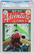 Silver Age (1956-1969):Adventure, Adventure Comics #434 (DC, 1974) CGC NM 9.4 Cream to off-white pages....