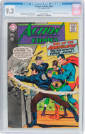 Silver Age (1956-1969):Superhero, Action Comics #356 (DC, 1967) CGC NM- 9.2 Off-white to white pages....