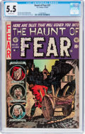 Golden Age (1938-1955):Horror, Haunt of Fear #21 (EC, 1953) CGC FN- 5.5 Off-white pages....