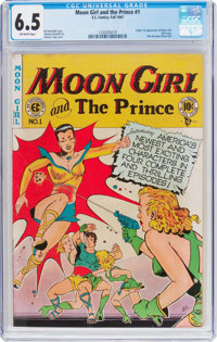 Moon Girl #1 (EC, 1947) CGC FN+ 6.5 Off-white pages