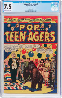 Popular Teen-Agers #6 (Star Publications, 1951) CGC VF- 7.5 Off-white to white pages