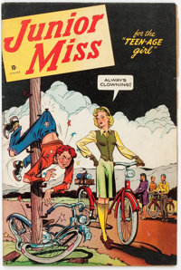 Junior Miss #1 (Timely, 1944) Condition: VG-