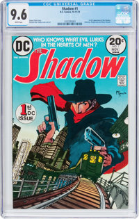 The Shadow #1 (DC, 1973) CGC NM+ 9.6 White pages
