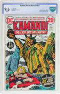 Bronze Age (1970-1979):Science Fiction, Kamandi, the Last Boy on Earth #1 (DC, 1972) CBCS NM+ 9.6 White pages....