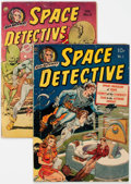 Golden Age (1938-1955):Science Fiction, Space Detective #1 and 2 Canadian Editions Group (Avon, 1951)Condition: Average VG.... (Total: 2 Comic Books)