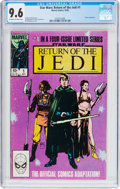 Modern Age (1980-Present):Science Fiction, Star Wars: Return of the Jedi #1 (Marvel, 1983) CGC NM+ 9.6Off-white to white pages....