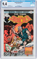 Bronze Age (1970-1979):Horror, Tomb of Dracula #31 (Marvel, 1975) CGC NM 9.4 White pages....