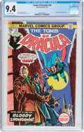 Bronze Age (1970-1979):Horror, Tomb of Dracula #34 (Marvel, 1975) CGC NM 9.4 Off-white pages....