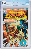 Bronze Age (1970-1979):Horror, Tomb of Dracula #42 Double Cover (Marvel, 1976) CGC NM 9.4 Whitepages....