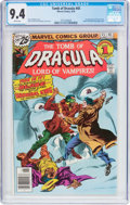 Bronze Age (1970-1979):Horror, Tomb of Dracula #45 (Marvel, 1976) CGC NM 9.4 White pages....