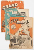 "Golden Age (1938-1955):Miscellaneous, Golden Age Canadian ""Whites"" Comics Group of 5 (Double A Comics, 1940s-50s).... (Total: 5 Comic Books)"