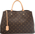 "Luxury Accessories:Bags, Louis Vuitton Classic Monogram Canvas Montaigne GM Bag. VeryGood to Excellent Condition. 15.5"" Width x 11"" Height x 6.5""..."