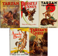 Books:Science Fiction & Fantasy, Edgar Rice Burroughs. Group of Five Books. Tarzana: [1933-1940].Various editions.... (Total: 5 Items)