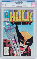 Modern Age (1980-Present):Superhero, The Incredible Hulk #340 (Marvel, 1988) CGC NM+ 9.6 White pages....