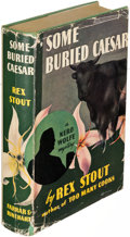 Books:Mystery & Detective Fiction, Rex Stout. Some Buried Caesar. New York: [1939]. Firstedition.. ...