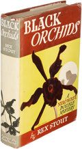 Books:Mystery & Detective Fiction, Rex Stout. Black Orchids. New York: [1942]. First edition.....