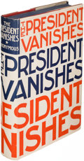 Books:Mystery & Detective Fiction, [Rex Stout]. The President Vanishes. New York: [1934]. Firstedition....
