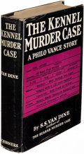Books:Mystery & Detective Fiction, S. S. Van Dine. Group of Eight Philo Vance Mysteries. New York:[1929-1939]. First editions, one inscribed. . ... (Total: 10 Items)