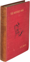 Books:Science Fiction & Fantasy, H. G. Wells. The Invisible Man. London: 1897. First edition.. ...