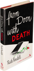 Books:Mystery & Detective Fiction, Ruth Rendell. From Doon with Death. Garden City: 1965. FirstU. S. edition, signed....