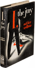 Books:Mystery & Detective Fiction, Mickey Spillane. I, the Jury. New York: 1947. First edition....