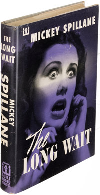 Mickey Spillane. The Long Wait. New York: 1951. First edition