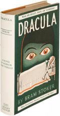 Books:Horror & Supernatural, Bram Stoker. Dracula. New York: [circa 1927]. Stage playedition....