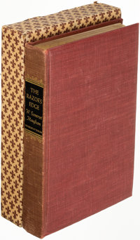 W. Somerset Maugham. The Razor's Edge. Garden City: 1944. First edition, limited-issue, signed