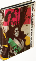 Books:Art & Architecture, Andy Warhol. Andy Warhol's Exposures. New York: [1979].First printing, signed. ...