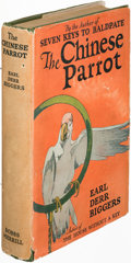 Books:Mystery & Detective Fiction, Earl Derr Biggers. The Chinese Parrot. Indianapolis: [1926].First edition....
