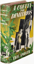 Books:Mystery & Detective Fiction, Eric Ambler. A Coffin for Dimitrios. New York: 1939. FirstU. S. edition....
