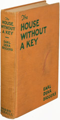 Books:Mystery & Detective Fiction, Earl Derr Biggers. The House Without a Key. Indianapolis:[1925]. First edition of the first Charlie Chan mystery, i...