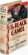 Books:Mystery & Detective Fiction, Earl Derr Biggers. The Black Camel. Indianapolis: [1929].First edition, review copy, inscribed....