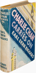 Books:Mystery & Detective Fiction, Earl Derr Biggers. Pair of Charlie Chan Mysteries. Indianapolis:[1930-1932]. First edition.... (Total: 2 Items)
