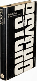 Books:Mystery & Detective Fiction, Robert Bloch. Psycho. New York: 1959. First edition....
