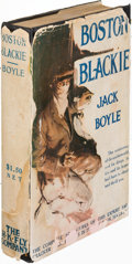Books:Mystery & Detective Fiction, Jack Boyle. Boston Blackie. New York: [1919]. First edition,editing previously-published short stories into a longe...