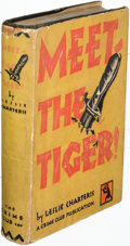 Books:Mystery & Detective Fiction, Leslie Charteris. Meet-The Tiger! Garden City: 1929. FirstU. S. edition....