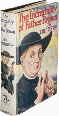 Books:Mystery & Detective Fiction, G. K. Chesterton. The Incredulity of Father Brown. London:[1926]. First edition....