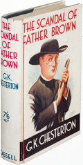Books:Mystery & Detective Fiction, G. K. Chesterton. The Scandal of Father Brown. London:[1935]. First edition....