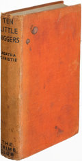 Books:Mystery & Detective Fiction, Agatha Christie. Ten Little Niggers. London: [1939]. First edition, signed....