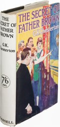 Books:Mystery & Detective Fiction, G. K. Chesterton. The Secret of Father Brown. London:[1927]. First edition....