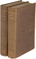 Books:Mystery & Detective Fiction, Wilkie Collins. No Name. Boston: [1863]. First illustrated edition.... (Total: 2 Items)